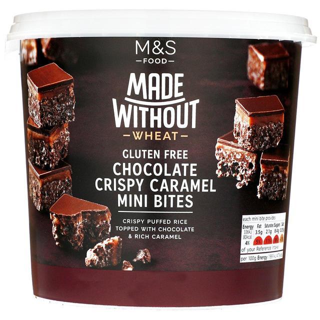 M&S Made Without Chocolate & Caramel Bites   Ocado