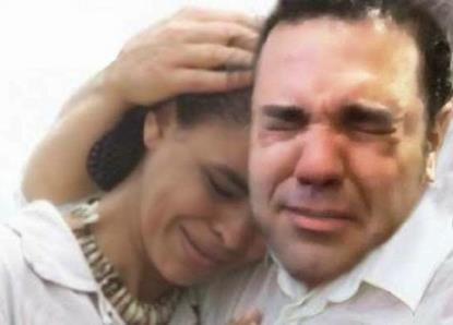 Marina Silva e Marco Feliciano... Parceiros? [Obs Cafezinho: a foto não é verdadeira. Foi manipulada.]