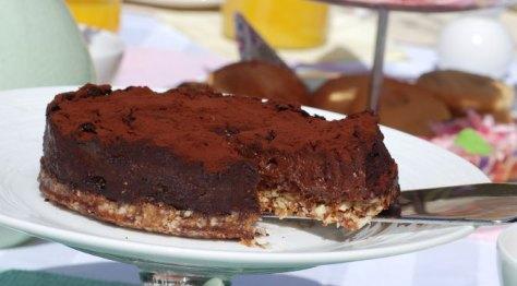 Chocolade rawfood taart O'Cakes