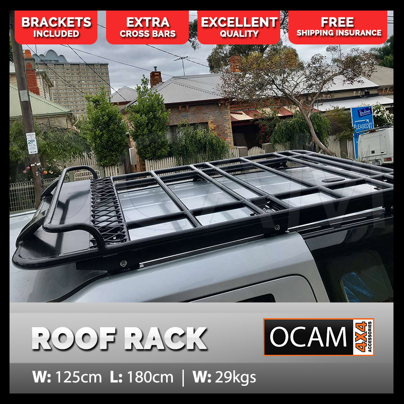 aluminium roof top tent rack for land rover discovery 3 4 1 8m