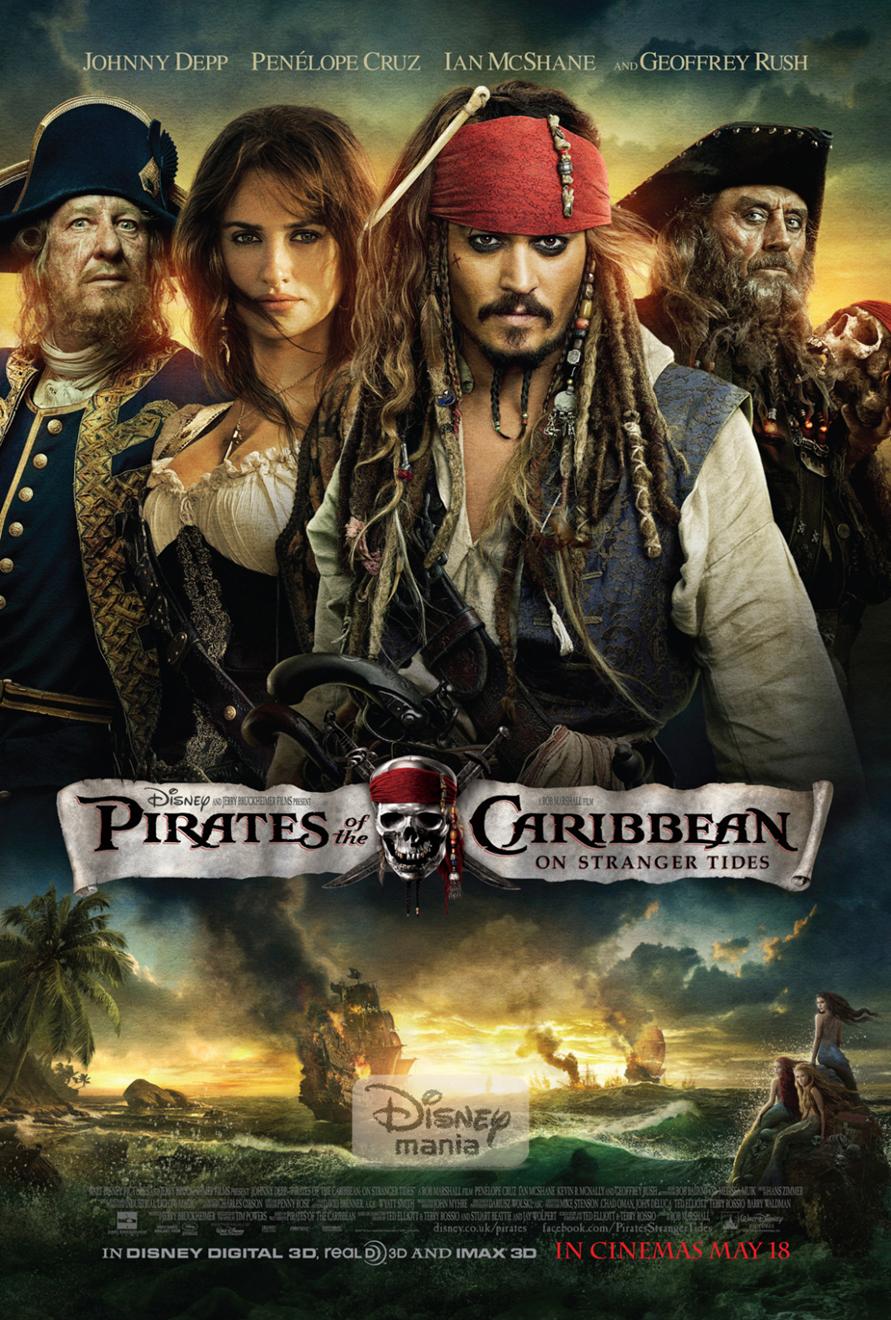 Poster do filme Piratas do Caribe: Navegando em Águas Misteriosas