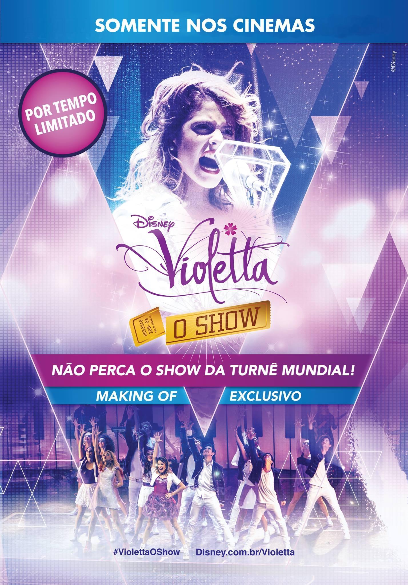 Poster do filme Violetta - O Show