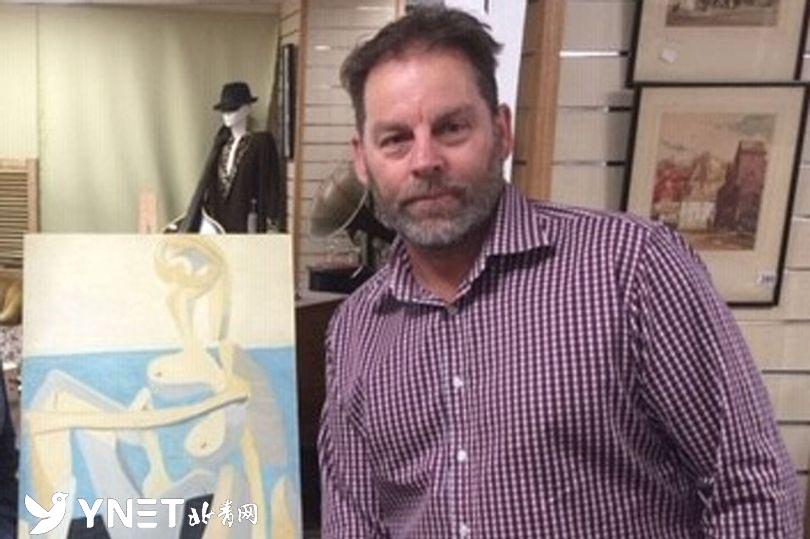 """英男子跳蚤市场230英镑买""""假画"""" 竟是毕加索真迹"""