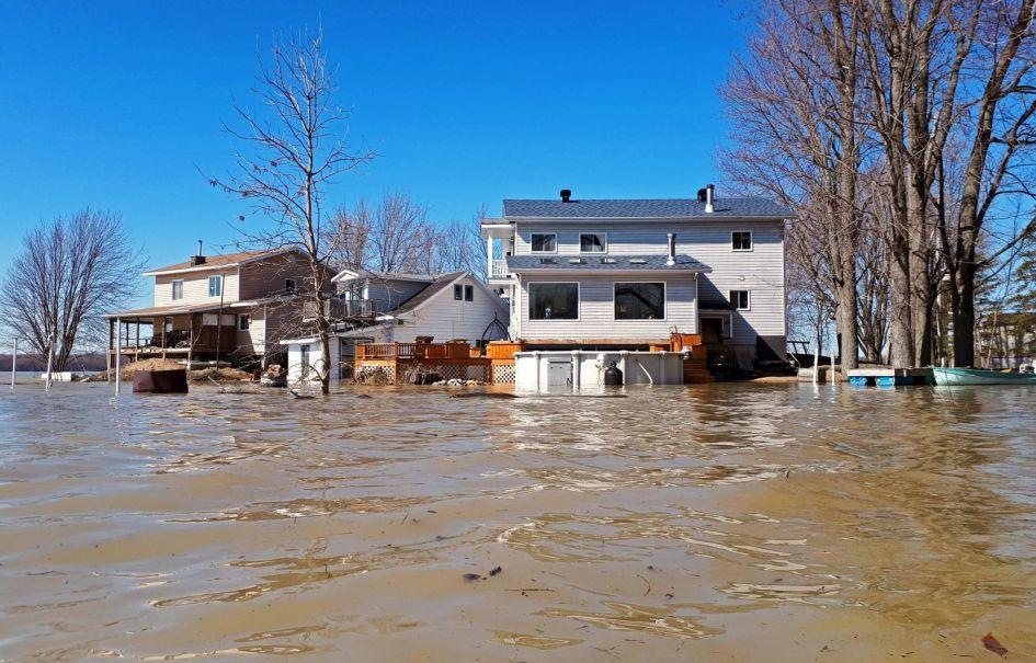 Les institutions financières ne raffolent pas de l'idée de consentir des prêts pour des propriétés dans les zones d'inondation 0-20ans.