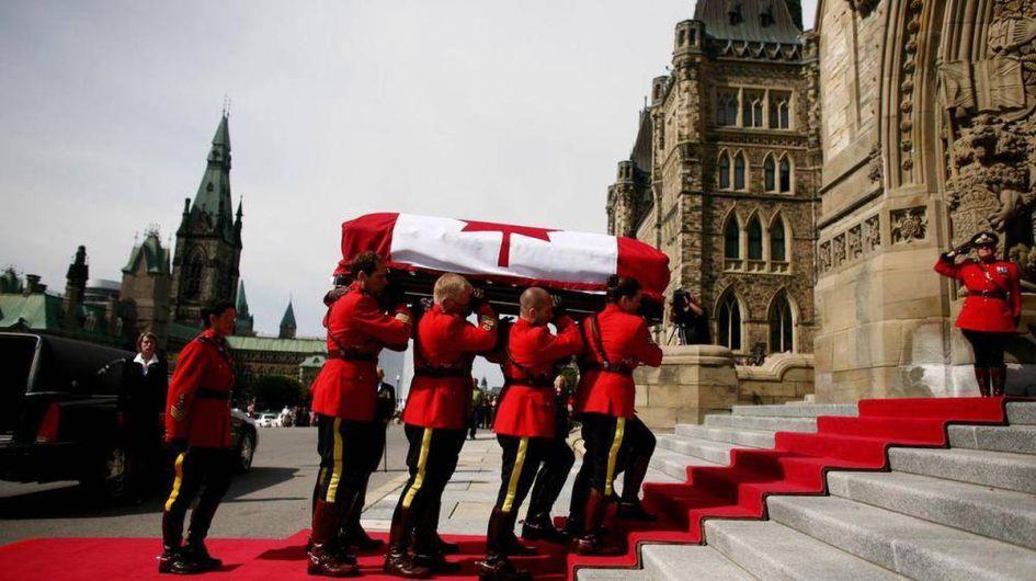 Image result for Jack Layton funeral