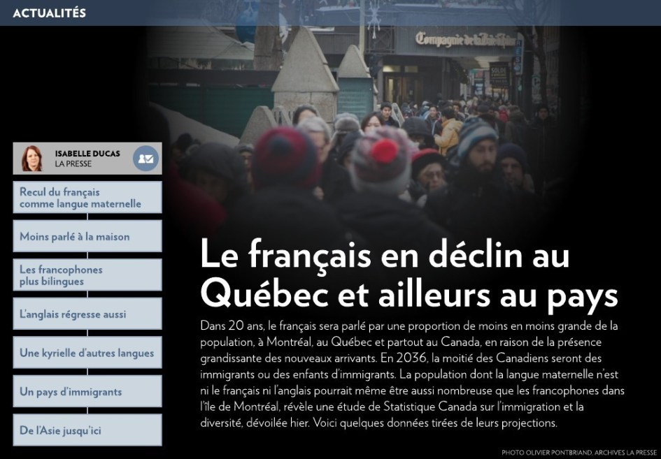 Image result for quebec  le francais