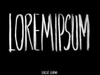 Lucio Leoni - Lorem Ipsum