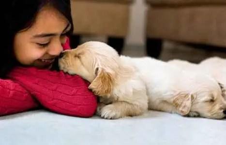Nome de Cachorra filhotinha com a dona