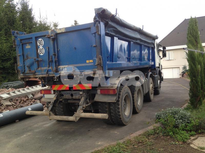 Benne Basculante De Chantier Et De TP Scania P Occasion