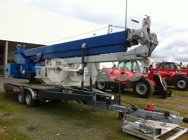 Grue Mobile BCKER AHK 301600 Occasion Vendre Ocazoo