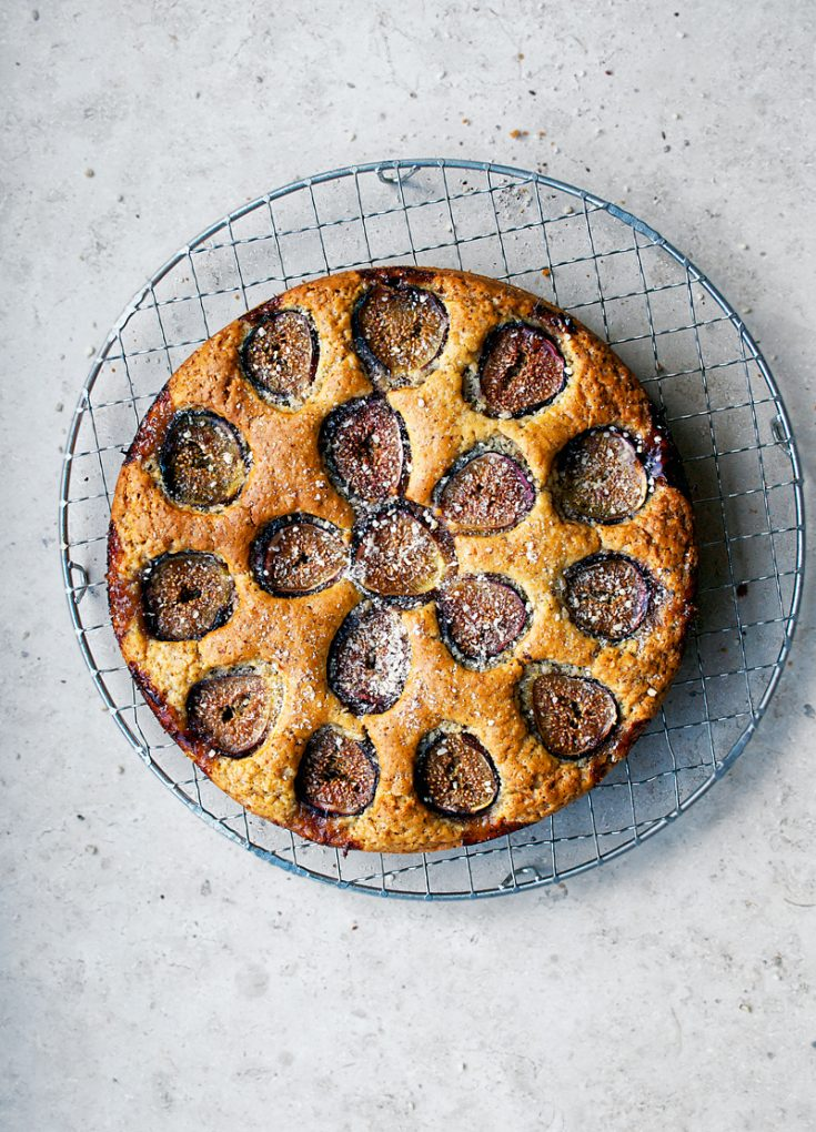 Fig & Hazelnut Cake