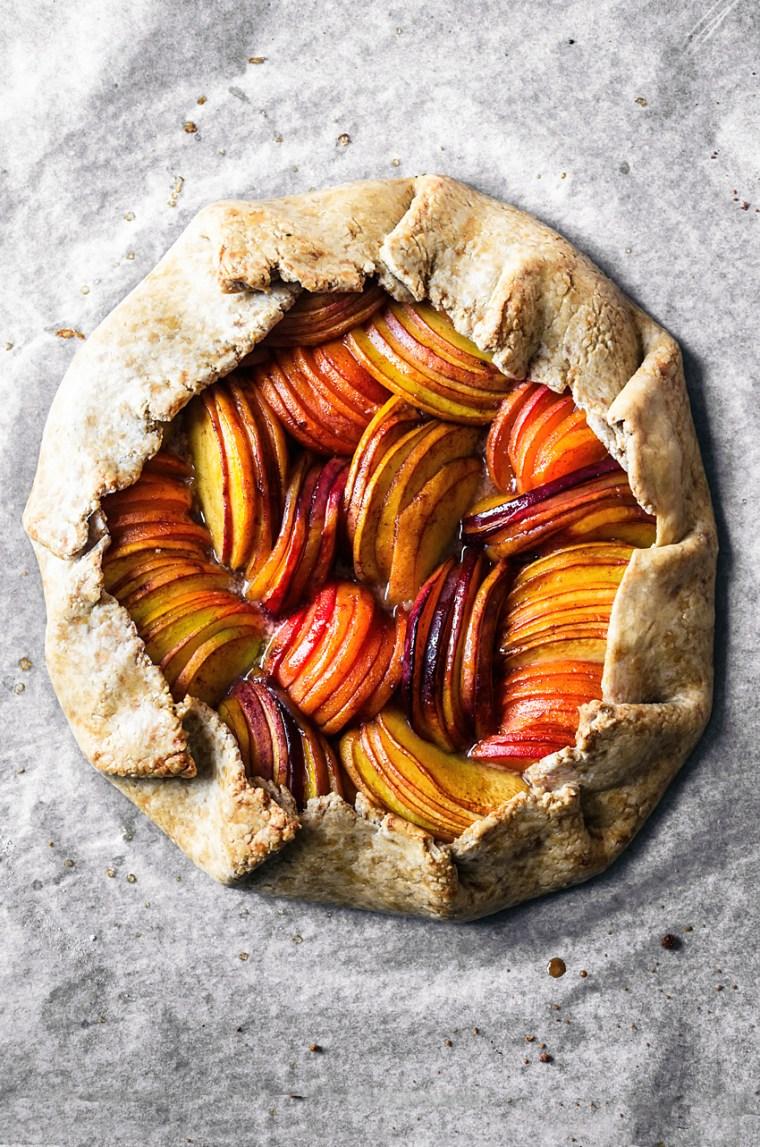 Vegan Summer Fruit Galette | occasionallyeggs.com