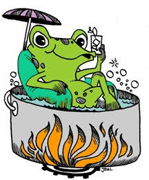 frog-in-a-pot