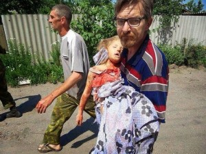 Ukraine dead child