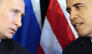 Putin and Obama opposite world views