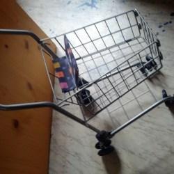 Einkaufswägeli für Kinder