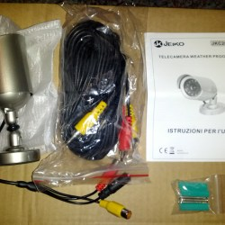 Wetterfeste Überwachungskamera mit Infrarot