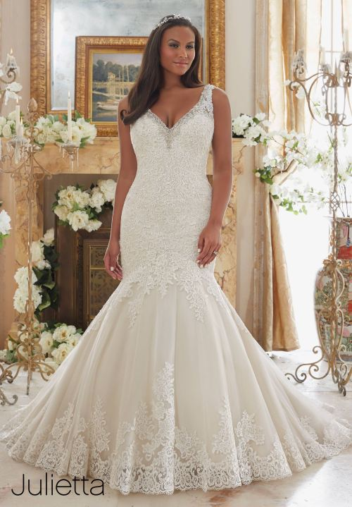 Curvy Wedding Gowns Archives - Bridal Boutique Maryland