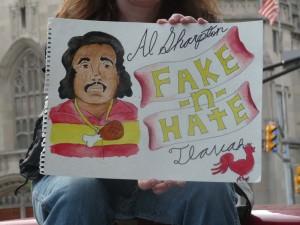 Sharpton Fake-n-Hate