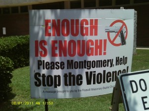 """""""Violent extremists"""" are operating in Montgomery"""