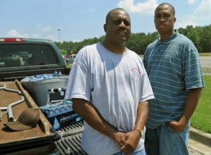 Johnny Gibson Sr. and Jr. look like Councilman Steven Hoyt ... and get $25,000 for Vulcan Bike Week