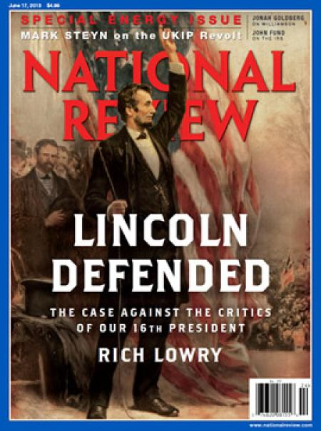 Rich Lowry's latest hagiography of Lincoln