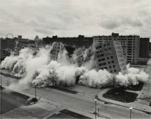 It is a myth that black people destroyed the Pruitt-Igoe housing project in St. Louis