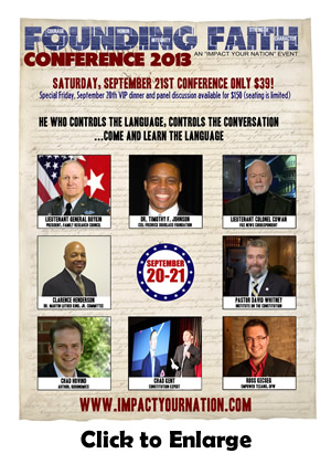 Founding Faith Conference 2013