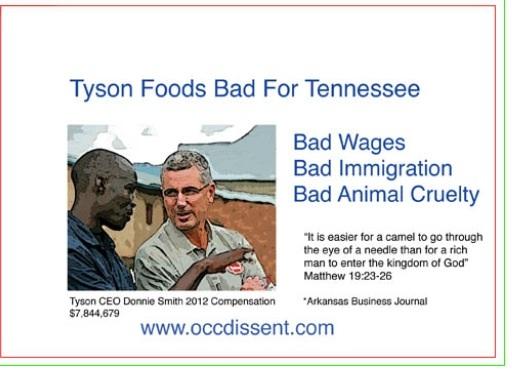 Tyson post cards