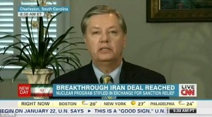 Sen. Lindsey Graham opposes peace with Iran