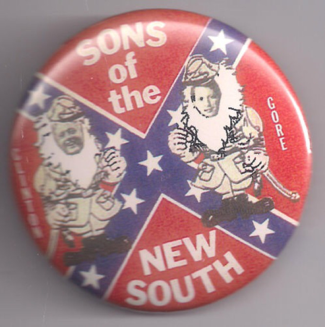 Too bad the pins with Rebel flags seem to never lose the cool factor, even with these two buffoons on em.
