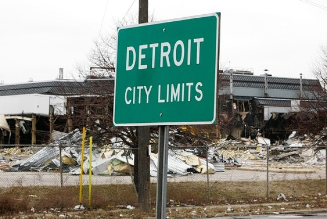 Soon we will all live in clones of Detroit. Vibrancy at its full strength.