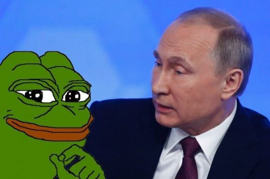 Image result for putin troll pepe