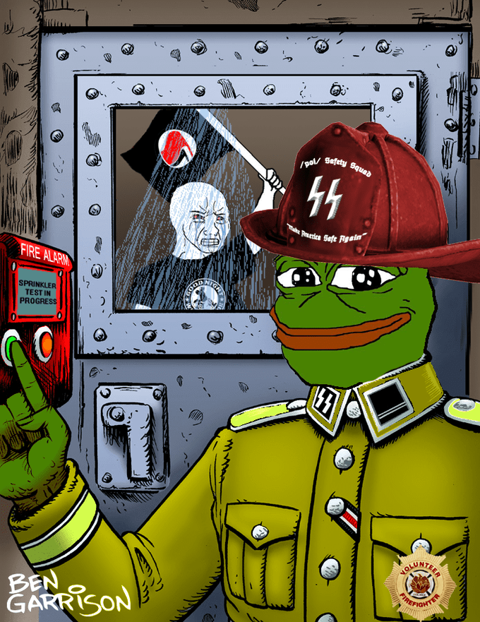 Pepe Gassing Antifa