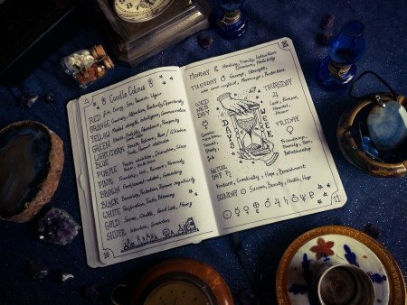 How To Choose The Right Companion Notebook For Book of Shadows? - Companion Notebook - Book of shadows