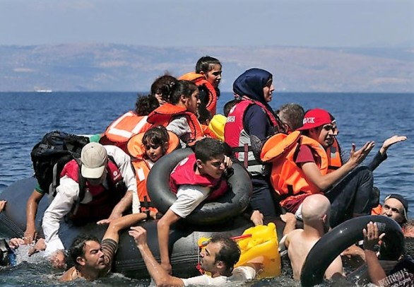 yusra mardini refugees boat2 (2)