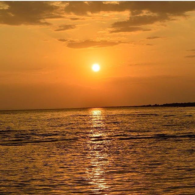Sunrise at Lake Turkana