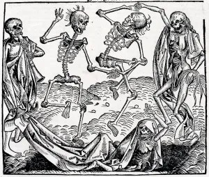 Dance of Death (1493) by Martin Wolgemut.