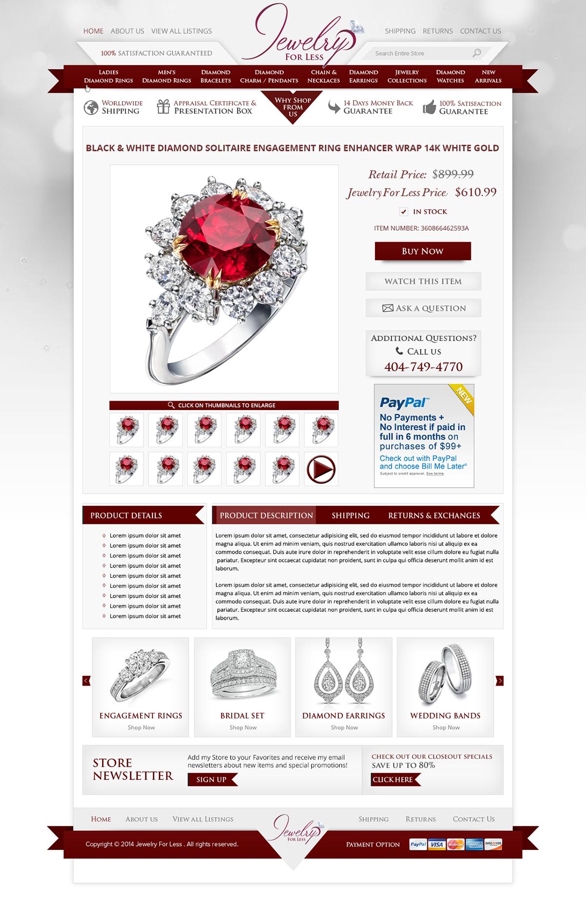 EBay Templates And EBay Template Design Mobile OCDesignsOnline