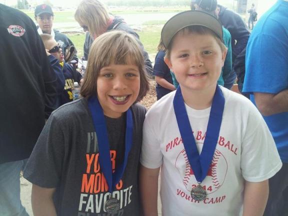 Skylar Smith and Blake Weirich.