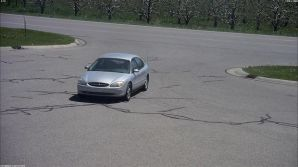 The suspect vehicle police are seeking involved in a recent  spree of alleged gas drive-offs.