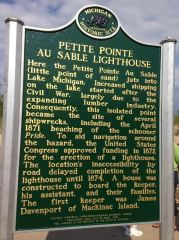 The front of the historical marker.