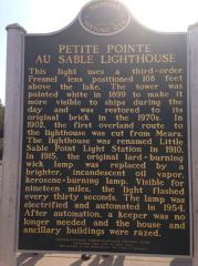 The back of the historical marker.