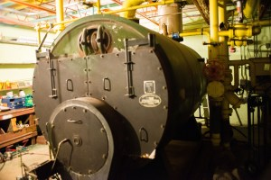 The high school boiler was built in 1961.