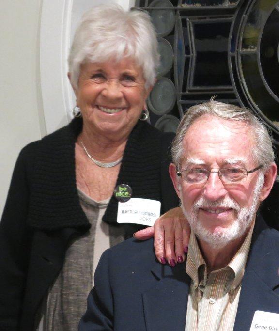 Greater Good Award recipients Gene & Barb Davidson of Pentwater.