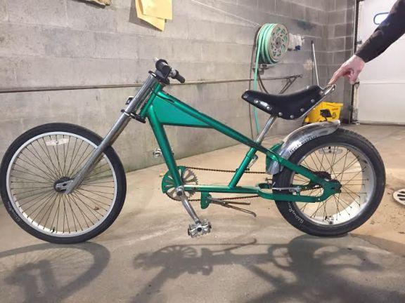recovered bike
