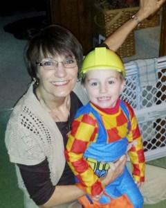 Gloria with her grandson, Ara Swiatlowski