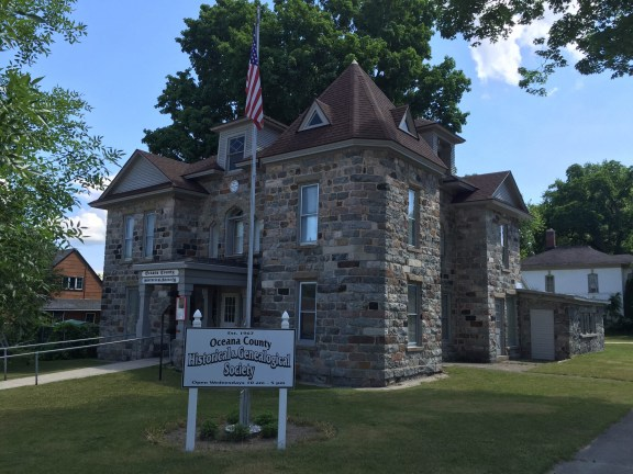 The Oceana County Historical & Genealogical Society, located at 114 Dryden St., Hart.