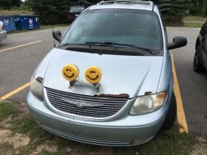 The Hepworth's minivan
