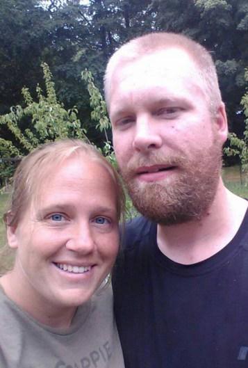 Amanda and James Hepworth